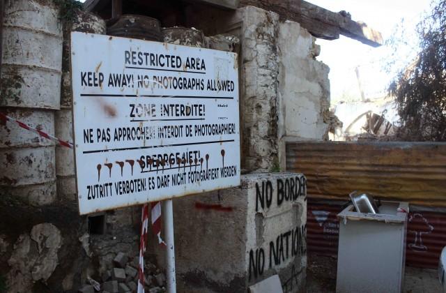 'Sin fronteras, sin naciones'. La Línea Verde, una franja de 180 kilómetros controlada por la ONU, recuerda en Nicosia el problema chipriota (Miguel Fernández-Pablo L. Orosa) copia