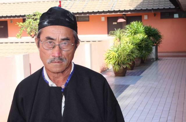 Soua Cheng fue entre 1975-2002 el líder de la resistencia Hmong en Vang Vieng area (Pablo L. Orosa) copia